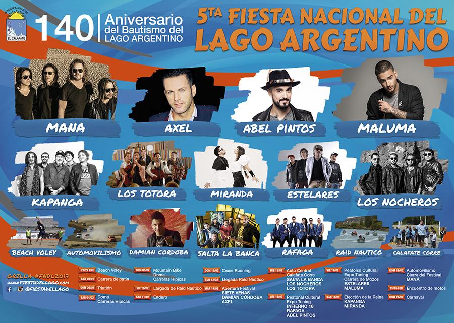 5ta Fiesta Nacional del Lago Argentino en El Calafate