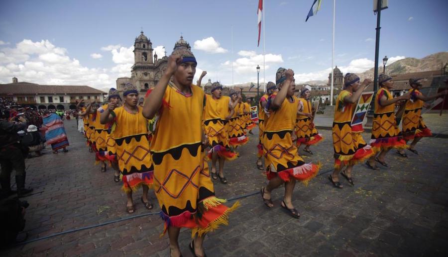 Celebraciones del Inti Raymi en Cusco